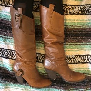 Matisse made in Brazil brown leather boots 8.5